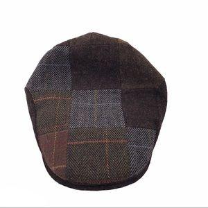 STETSON MEN'S IVY WOOL FLAT CAP